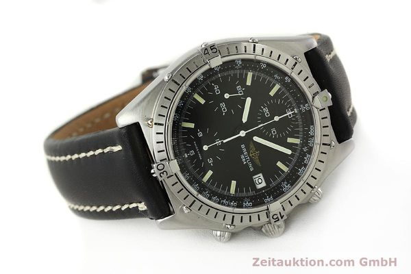 Used luxury watch Breitling Chronomat chronograph steel automatic Kal. VAL 7750 Ref. 81950  | 142365 03