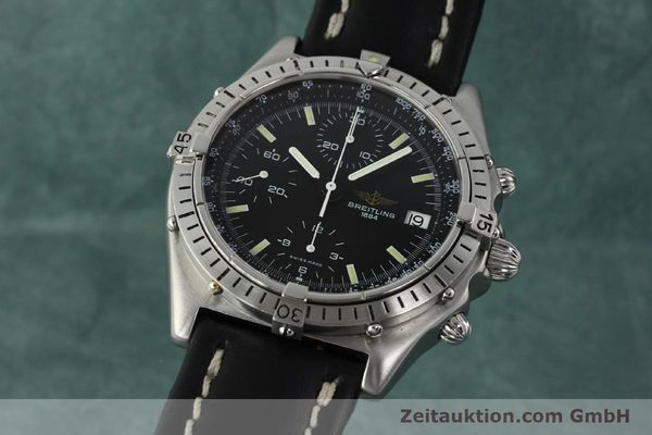 Used luxury watch Breitling Chronomat chronograph steel automatic Kal. VAL 7750 Ref. 81950  | 142365 04