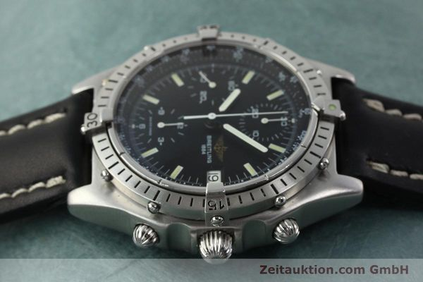Used luxury watch Breitling Chronomat chronograph steel automatic Kal. VAL 7750 Ref. 81950  | 142365 05