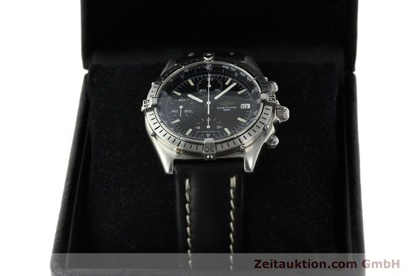 Used luxury watch Breitling Chronomat chronograph steel automatic Kal. VAL 7750 Ref. 81950  | 142365 07