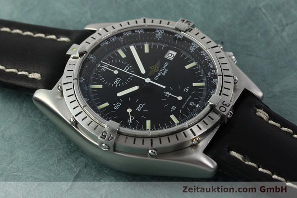 Used luxury watch Breitling Chronomat chronograph steel automatic Kal. VAL 7750 Ref. 81950  | 142365 13