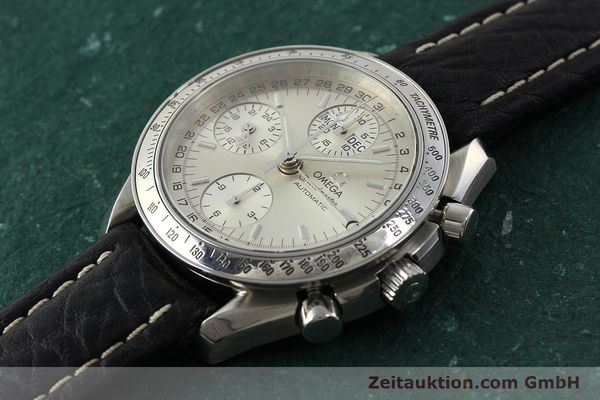 Used luxury watch Omega Speedmaster chronograph steel automatic Kal. 1151  | 142366 01