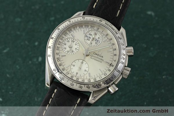 Used luxury watch Omega Speedmaster chronograph steel automatic Kal. 1151  | 142366 04