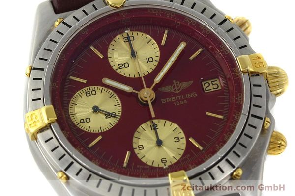 Used luxury watch Breitling Chronomat chronograph steel / gold automatic Kal. B13 VAL 7750 Ref. B13047  | 142367 02