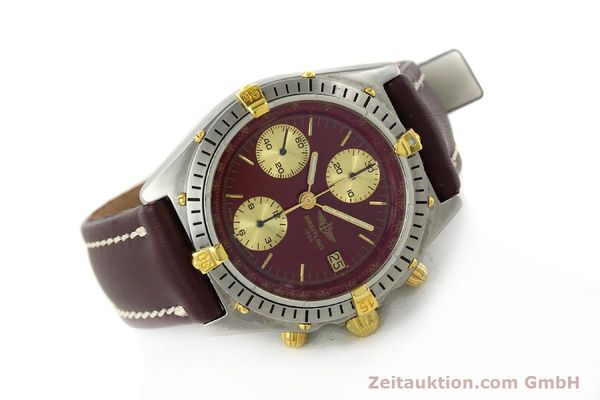 Used luxury watch Breitling Chronomat chronograph steel / gold automatic Kal. B13 VAL 7750 Ref. B13047  | 142367 03