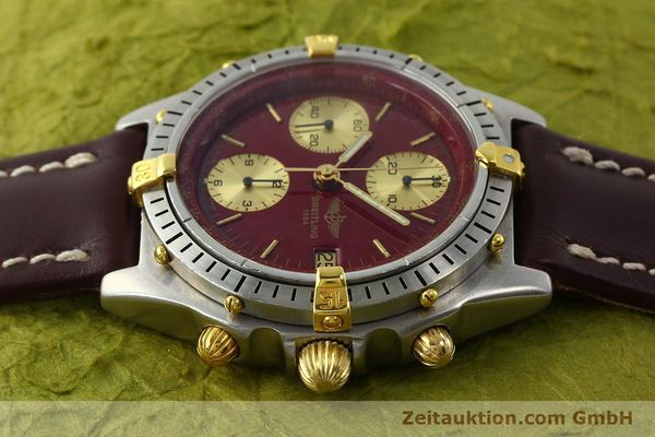 Used luxury watch Breitling Chronomat chronograph steel / gold automatic Kal. B13 VAL 7750 Ref. B13047  | 142367 05