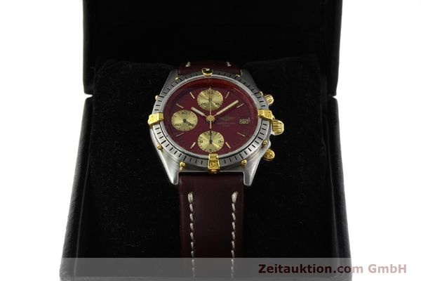 Used luxury watch Breitling Chronomat chronograph steel / gold automatic Kal. B13 VAL 7750 Ref. B13047  | 142367 07