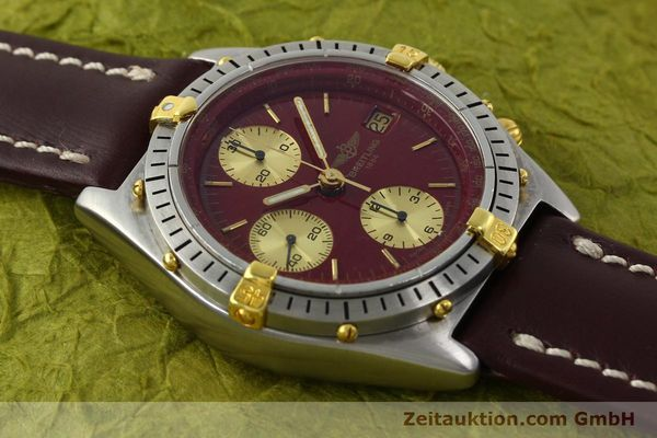 Used luxury watch Breitling Chronomat chronograph steel / gold automatic Kal. B13 VAL 7750 Ref. B13047  | 142367 12