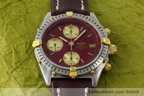 Used luxury watch Breitling Chronomat chronograph steel / gold automatic Kal. B13 VAL 7750 Ref. B13047  | 142367 13