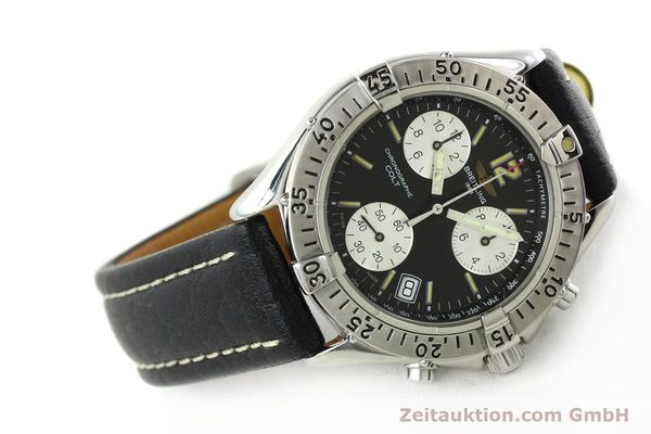 Used luxury watch Breitling Colt chronograph steel quartz Kal. B53 ETA 251262 Ref. A53035  | 142368 03
