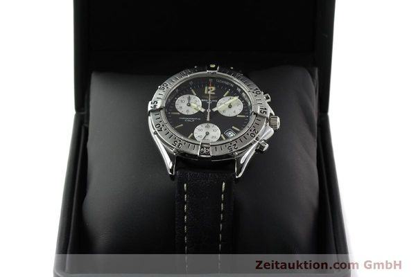 Used luxury watch Breitling Colt chronograph steel quartz Kal. B53 ETA 251262 Ref. A53035  | 142368 07
