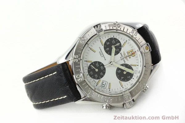 Used luxury watch Breitling Colt chronograph steel quartz Kal. B53 ETA 251262 Ref. A53035  | 142369 03