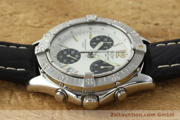 Used luxury watch Breitling Colt chronograph steel quartz Kal. B53 ETA 251262 Ref. A53035  | 142369 05