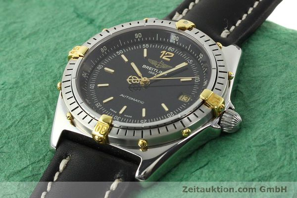 Used luxury watch Breitling Antares steel / gold automatic Kal. B10 ETA 2892-2 Ref. B10047  | 142370 01