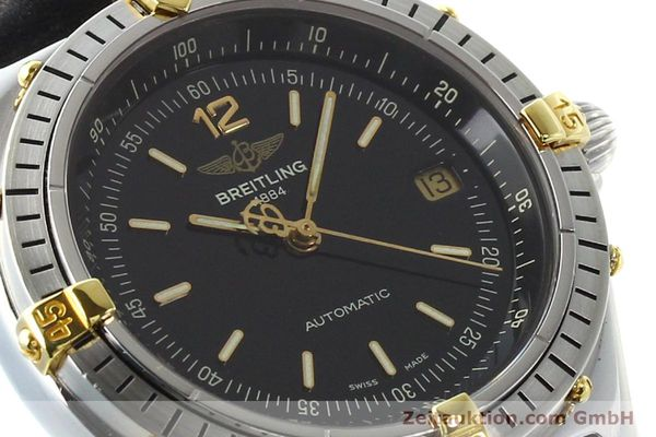 Used luxury watch Breitling Antares steel / gold automatic Kal. B10 ETA 2892-2 Ref. B10047  | 142370 02