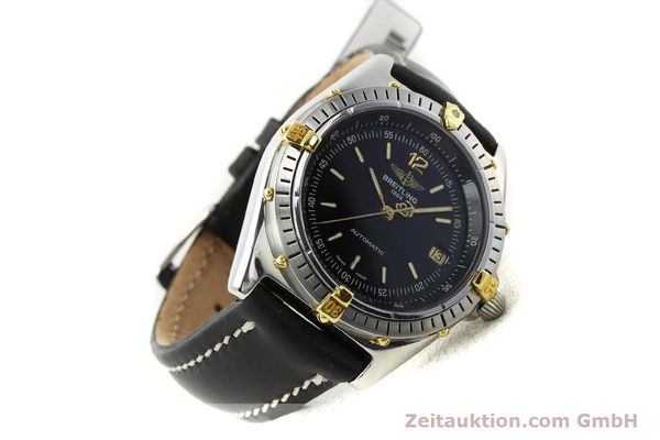 Used luxury watch Breitling Antares steel / gold automatic Kal. B10 ETA 2892-2 Ref. B10047  | 142370 03