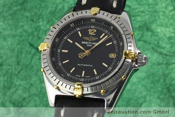 Used luxury watch Breitling Antares steel / gold automatic Kal. B10 ETA 2892-2 Ref. B10047  | 142370 04