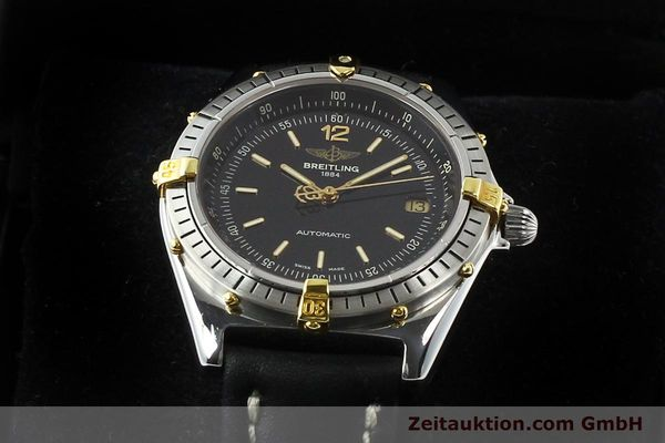Used luxury watch Breitling Antares steel / gold automatic Kal. B10 ETA 2892-2 Ref. B10047  | 142370 07