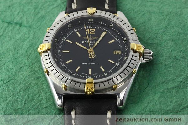 Used luxury watch Breitling Antares steel / gold automatic Kal. B10 ETA 2892-2 Ref. B10047  | 142370 13