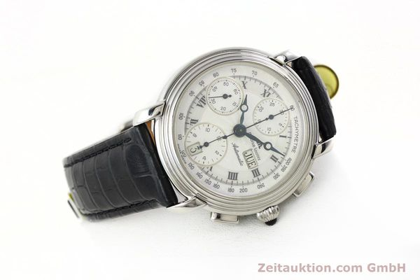 Used luxury watch Maurice Lacroix Croneo chronograph steel automatic Kal. ML 67 Ref. 67413  | 142373 03