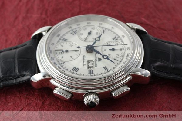Used luxury watch Maurice Lacroix Croneo chronograph steel automatic Kal. ML 67 Ref. 67413  | 142373 05