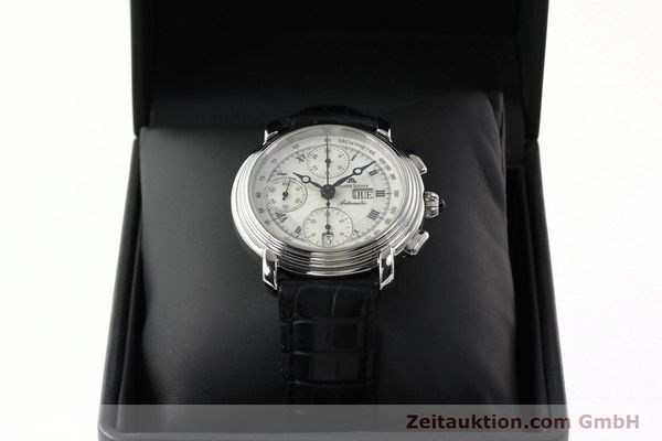 Used luxury watch Maurice Lacroix Croneo chronograph steel automatic Kal. ML 67 Ref. 67413  | 142373 07