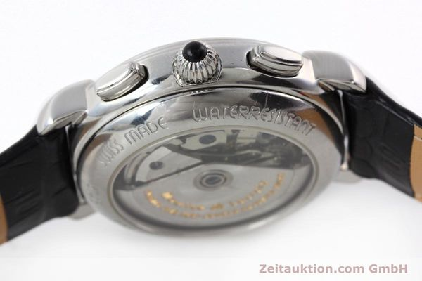 Used luxury watch Maurice Lacroix Croneo chronograph steel automatic Kal. ML 67 Ref. 67413  | 142373 08