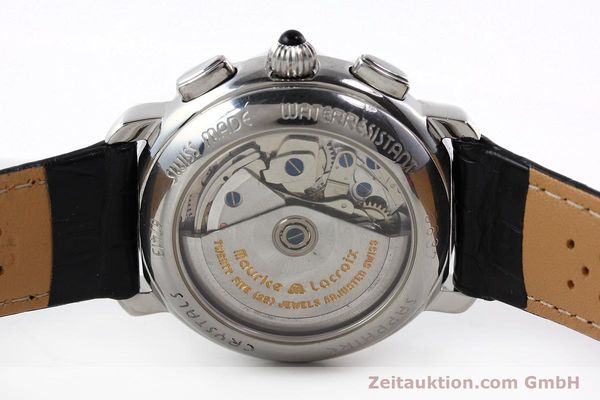 Used luxury watch Maurice Lacroix Croneo chronograph steel automatic Kal. ML 67 Ref. 67413  | 142373 09