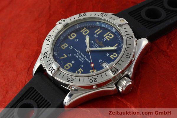 Used luxury watch Breitling Superocean steel automatic Kal. B17 ETA 2824-2 Ref. B17040  | 142375 01