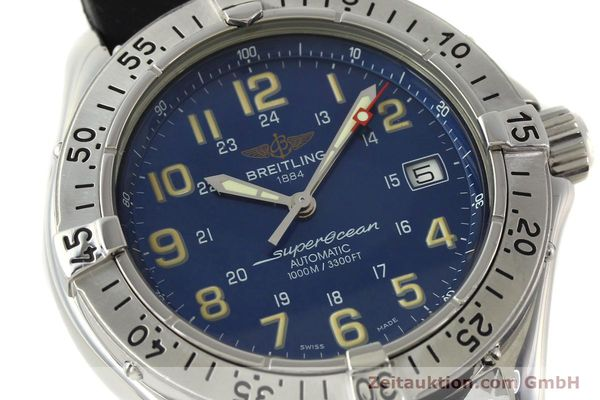 Used luxury watch Breitling Superocean steel automatic Kal. B17 ETA 2824-2 Ref. B17040  | 142375 02