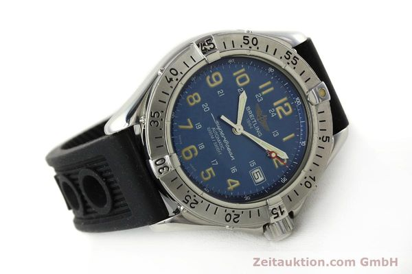 Used luxury watch Breitling Superocean steel automatic Kal. B17 ETA 2824-2 Ref. B17040  | 142375 03