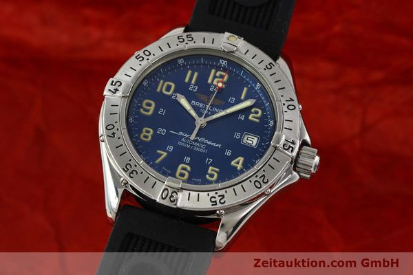 Used luxury watch Breitling Superocean steel automatic Kal. B17 ETA 2824-2 Ref. B17040  | 142375 04