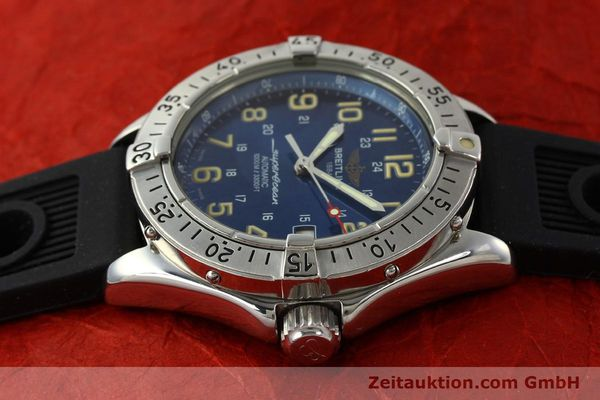 Used luxury watch Breitling Superocean steel automatic Kal. B17 ETA 2824-2 Ref. B17040  | 142375 05