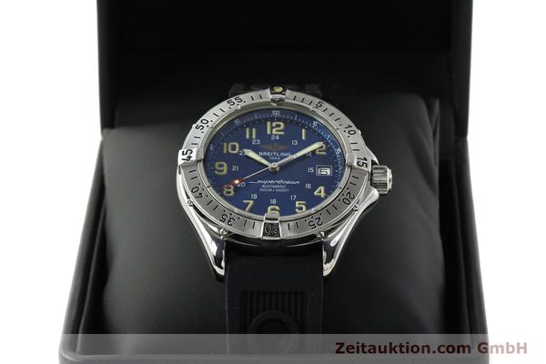 Used luxury watch Breitling Superocean steel automatic Kal. B17 ETA 2824-2 Ref. B17040  | 142375 07