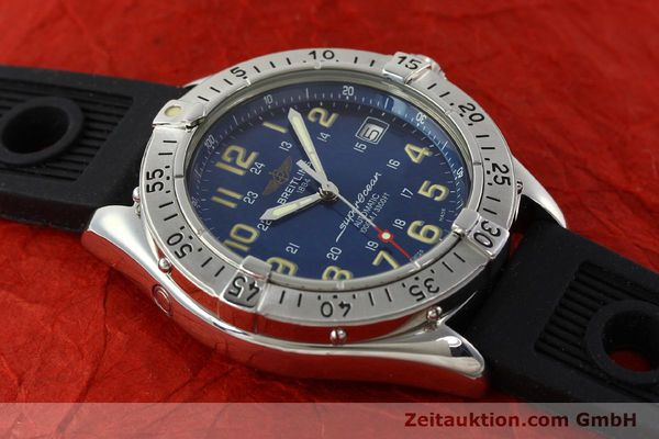 Used luxury watch Breitling Superocean steel automatic Kal. B17 ETA 2824-2 Ref. B17040  | 142375 14