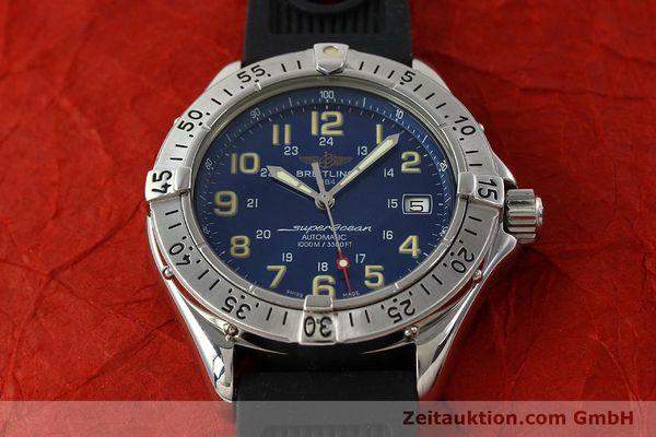 Used luxury watch Breitling Superocean steel automatic Kal. B17 ETA 2824-2 Ref. B17040  | 142375 15