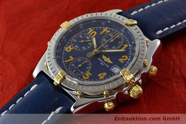 Used luxury watch Breitling Chronomat chronograph steel / gold automatic Kal. B13 ETA 7750 Ref. B13350  | 142377 01