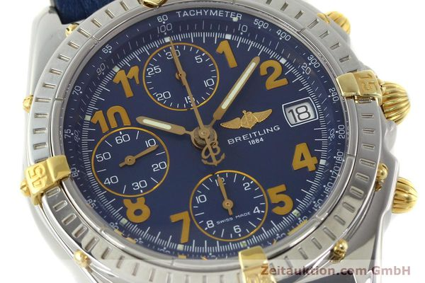 Used luxury watch Breitling Chronomat chronograph steel / gold automatic Kal. B13 ETA 7750 Ref. B13350  | 142377 02