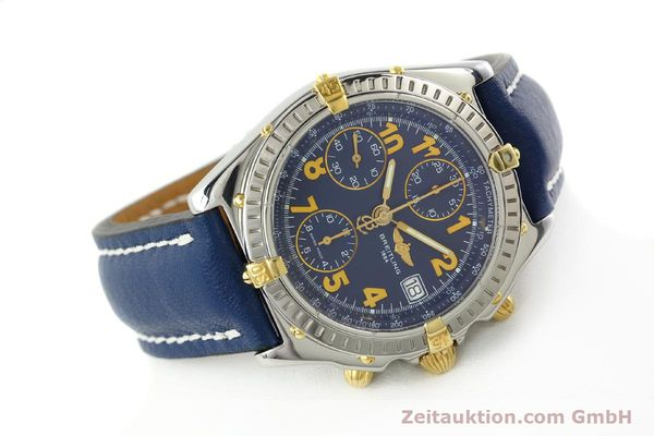 Used luxury watch Breitling Chronomat chronograph steel / gold automatic Kal. B13 ETA 7750 Ref. B13350  | 142377 03