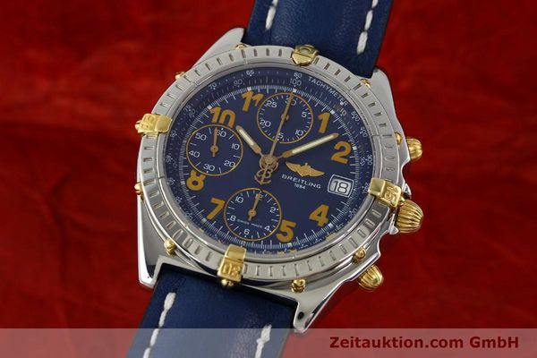 Used luxury watch Breitling Chronomat chronograph steel / gold automatic Kal. B13 ETA 7750 Ref. B13350  | 142377 04