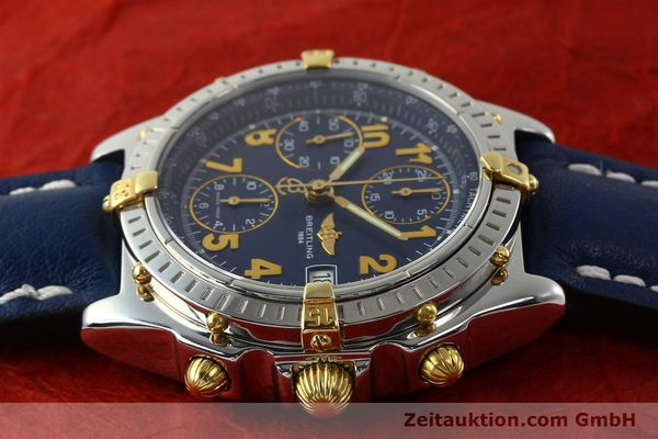 Used luxury watch Breitling Chronomat chronograph steel / gold automatic Kal. B13 ETA 7750 Ref. B13350  | 142377 05