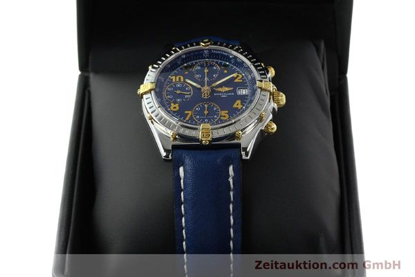 Used luxury watch Breitling Chronomat chronograph steel / gold automatic Kal. B13 ETA 7750 Ref. B13350  | 142377 07
