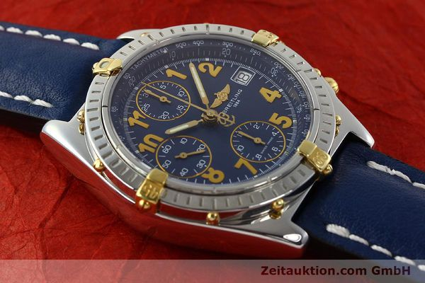 Used luxury watch Breitling Chronomat chronograph steel / gold automatic Kal. B13 ETA 7750 Ref. B13350  | 142377 13
