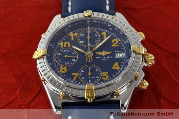 Used luxury watch Breitling Chronomat chronograph steel / gold automatic Kal. B13 ETA 7750 Ref. B13350  | 142377 14
