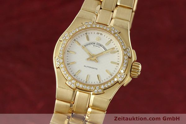 montre de luxe d occasion Vacheron & Constantin Overseas or 18 ct automatique Kal. 1056 Ref. 12050-16050  | 142378 04