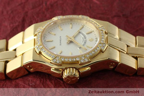 montre de luxe d occasion Vacheron & Constantin Overseas or 18 ct automatique Kal. 1056 Ref. 12050-16050  | 142378 05