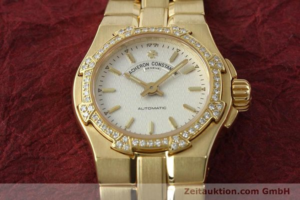 montre de luxe d occasion Vacheron & Constantin Overseas or 18 ct automatique Kal. 1056 Ref. 12050-16050  | 142378 17