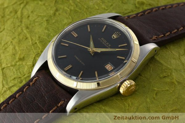 Used luxury watch Rolex Precision steel / gold manual winding Kal. 1215 Ref. 6494 VINTAGE  | 142379 01