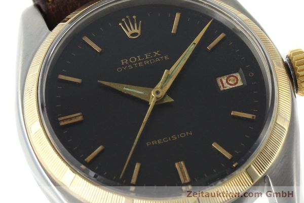 Used luxury watch Rolex Precision steel / gold manual winding Kal. 1215 Ref. 6494 VINTAGE  | 142379 02