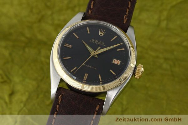 Used luxury watch Rolex Precision steel / gold manual winding Kal. 1215 Ref. 6494 VINTAGE  | 142379 04